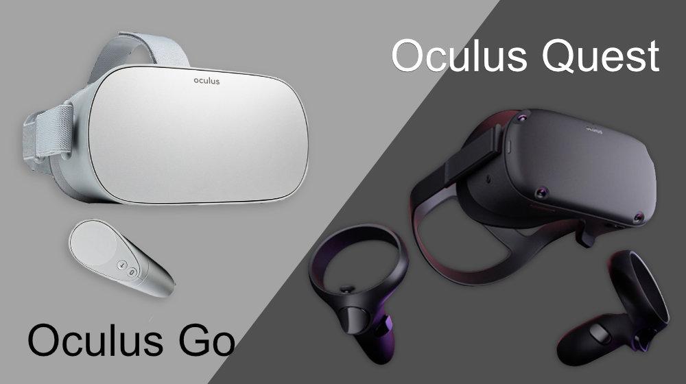 Oculus GoとOculus Questの比較