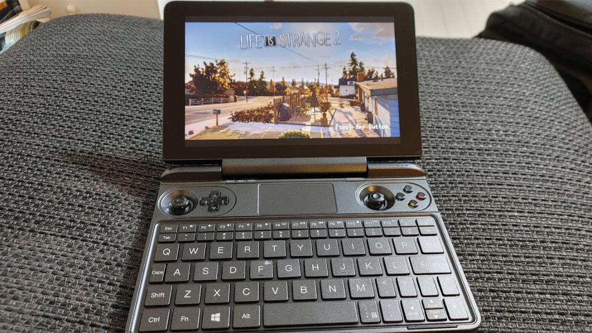 携帯ゲーム機としてのGPD WIN MAX