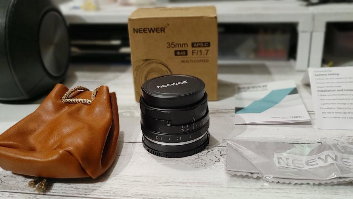Neewer 35mm F1.7 レンズ