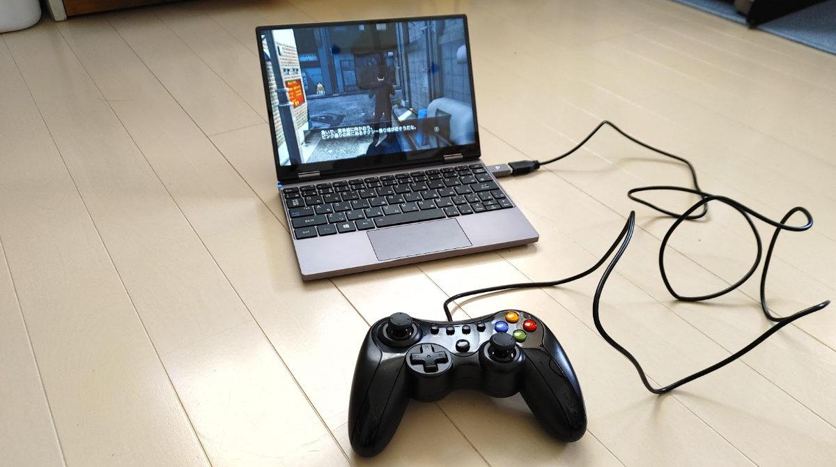 OneMix4でゲームしてみた